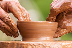 Pottery detail Royalty Free Stock Photography