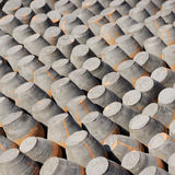 Pottery drying in the sun Royalty Free Stock Images