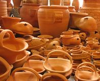 Pottery earthenware Stock Image