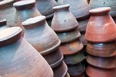 Pottery earthenware Royalty Free Stock Image