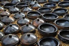 Pottery, Ethiopia royalty free stock image