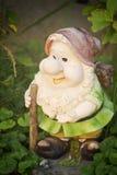 Pottery figure Stock Photo