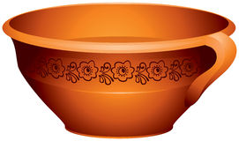 Free Pottery For The Milk Or Porridge Royalty Free Stock Images - 25009059