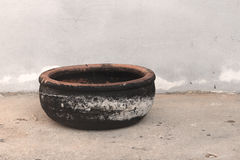 Pottery full of soot Royalty Free Stock Image