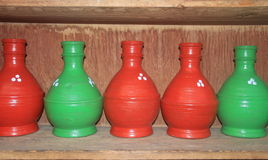 Pottery Handicraft In Kashmir. Stock Photo