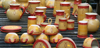 Free Pottery Handicrafts Royalty Free Stock Image - 14262786