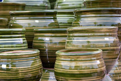 Pottery handicrafts Royalty Free Stock Photo