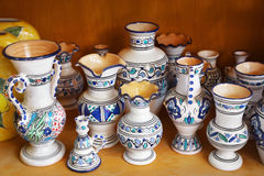 Pottery handicrafts Stock Image