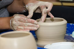 Pottery handmade Royalty Free Stock Image