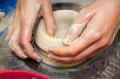 Pottery handmade Royalty Free Stock Image