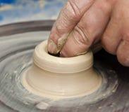 Pottery handmade Stock Photography