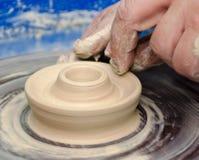 Pottery handmade Royalty Free Stock Photo