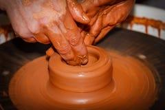 Pottery handmade Stock Photos