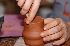 Pottery handmade Royalty Free Stock Photos