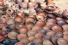Pottery items Royalty Free Stock Images