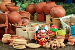 Pottery items Royalty Free Stock Photo