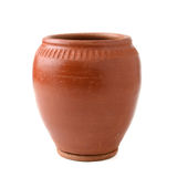 Pottery jar Stock Photo