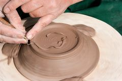 Pottery making 2 Royalty Free Stock Photo