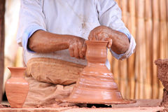 Pottery making Stock Photos