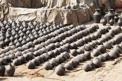 Pottery Making, Bhaktapur, Nepal Royalty Free Stock Image