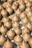 Pottery Making, Bhaktapur, Nepal Stock Photo