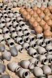Pottery Making, Bhaktapur, Nepal Royalty Free Stock Photo