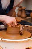 Pottery making Royalty Free Stock Image