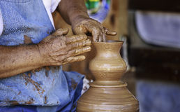 Pottery Making Royalty Free Stock Photo