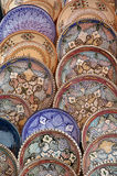 Pottery on a market Royalty Free Stock Photos