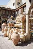 Pottery market Nizwa Stock Photography