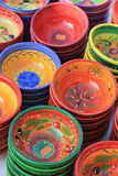 Pottery at a market Stock Image