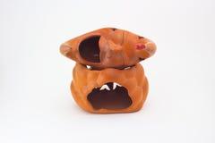 Pottery moon model. Stock Photos