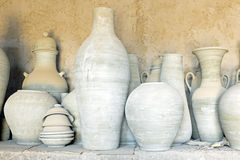 Pottery in Morocco Royalty Free Stock Image