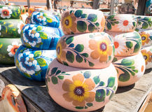 Pottery in Old Town Market - San Diego California Royalty Free Stock Photography