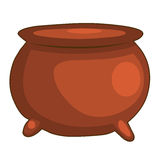 Pottery pot  illustration Stock Photos