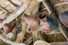Pottery pots Stock Image