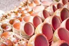 Pottery Pots Stock Photo