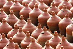 Pottery at Potters Square, Bhaktapur, Nepal Stock Photos