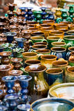 Pottery products Stock Image