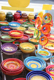 Pottery in the Provence Stock Image