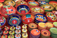Pottery from the Provence. Colorful pottery from the Provence, France Stock Images
