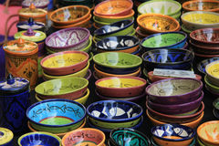 Pottery in the Provence Stock Images