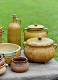 Pottery rural lifestyle Stock Photo