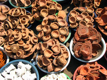 Pottery Sale Royalty Free Stock Images
