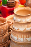 Pottery for sale Royalty Free Stock Images