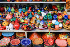 Pottery for sale Royalty Free Stock Image