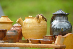 Pottery on sale Royalty Free Stock Photography