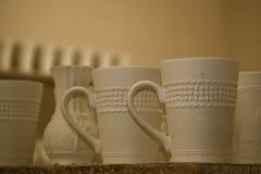 Pottery On Shelf Royalty Free Stock Photo