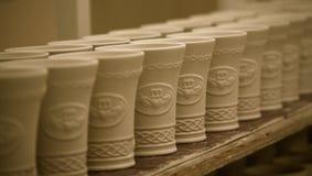 Pottery On Shelf Stock Image