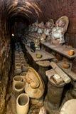 Pottery Shigaraki Japan Stock Photo